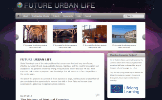 future urban life - comenius project