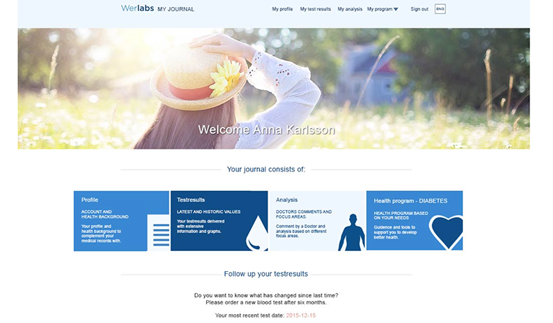 werlabs web page